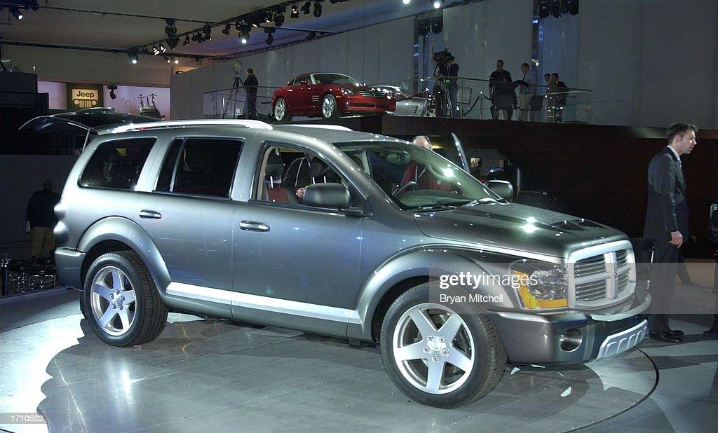 The Dodge Durango HEMI RT Concept Is Shown At A Press - Durango car show
