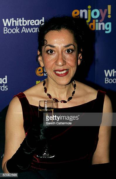 The 2004 Whitbread Book Of The Year winner Andrea Levy poses for photographs at the The Brewery on January 25 2005 in London The annual awards has...