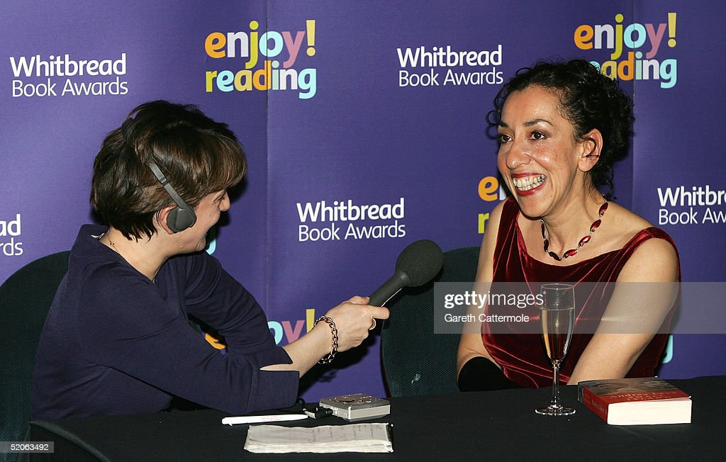 Whitbread Book Awards 2004 - Awards Room : Nyhetsfoto
