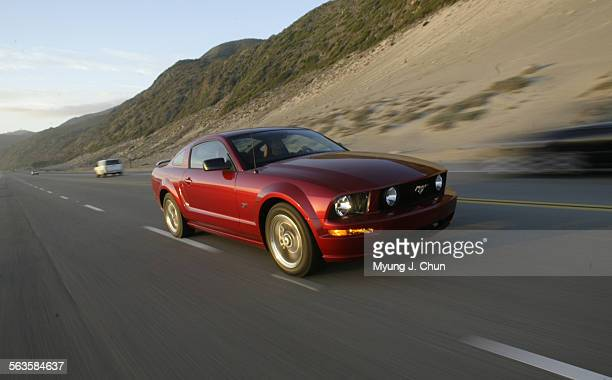 The 2005 Ford Mustang GT reminiscent of the Fastback features a 300–hp V8 engine