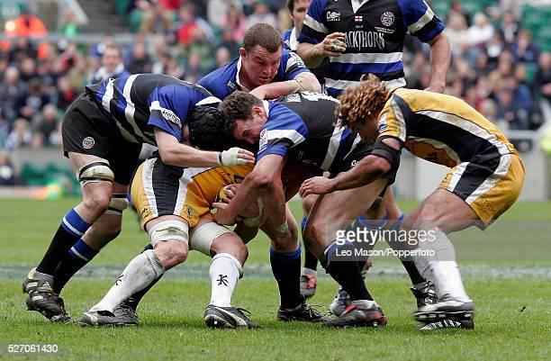 The 2005 Powergen Cup Final at Twickenham Leeds Tykes vs Bath Rugby