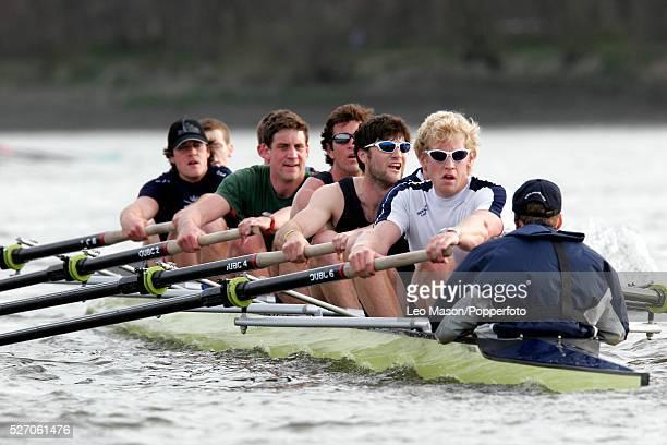 The 2005 University Boat Race Oxford vs Cambridge Oxford on the Tideway