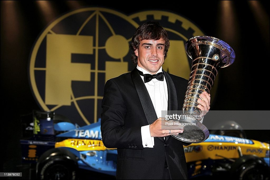 The 2006 FIA Gala held in Monaco city, Monaco On December 08, 2006- : News Photo