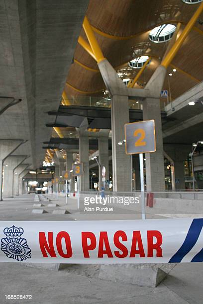 The 2006 Madrid-Barajas Airport bombing occurred on 30 December 2006 when a van bomb exploded in the Terminal 4 parking area at the Madrid-Barajas...