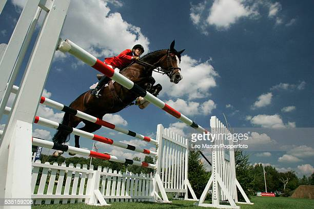 The 2006 Royal International Horse Show Hickstead Show jumping Arena Sussex The Sansung SuperLeague GB