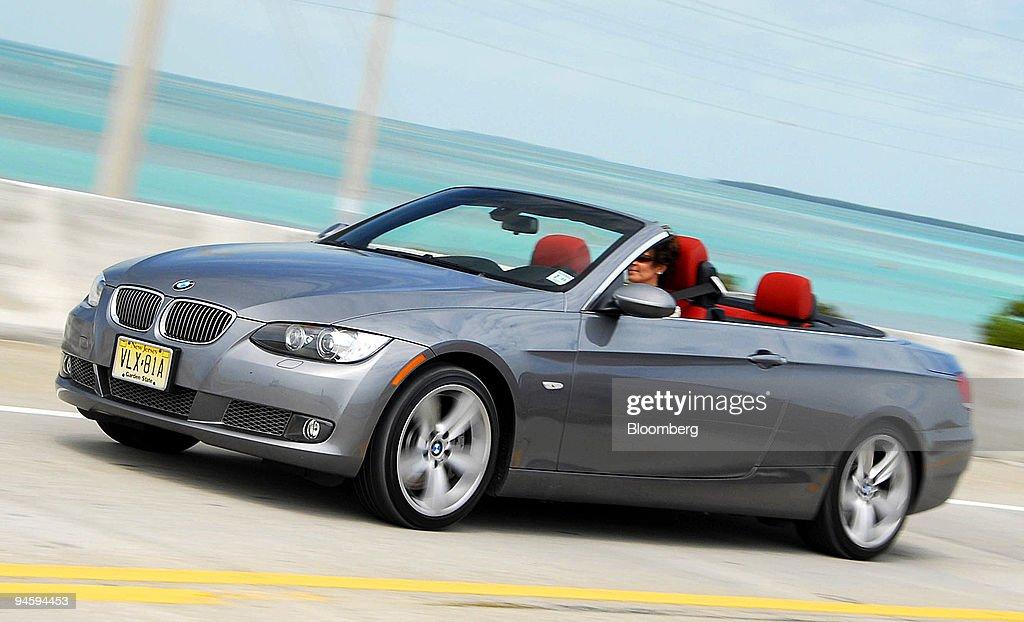 The 2007 BMW 335i Convertible is driven in Islamorada, Flori ...