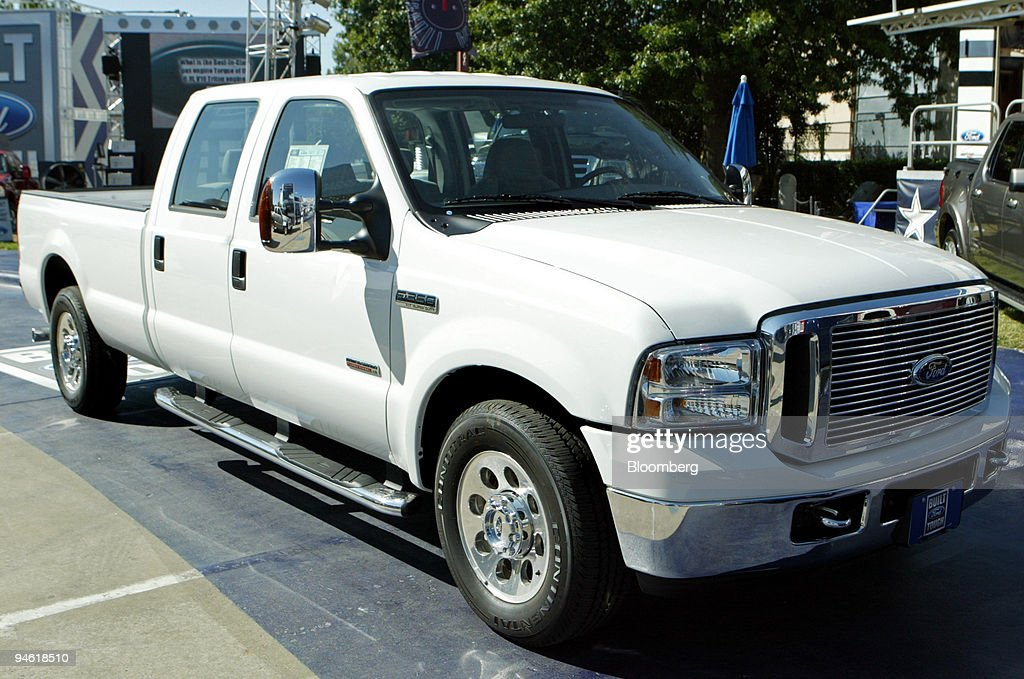 The 2007 Ford F 350 Xlt Super Duty Truck Is Seen At The State Fair