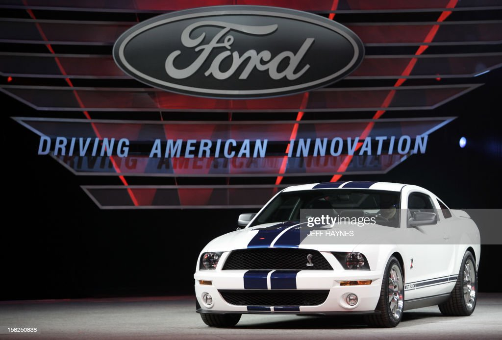 US-DETROIT AUTO SHOW-FORD SHELBY GT 500 : News Photo