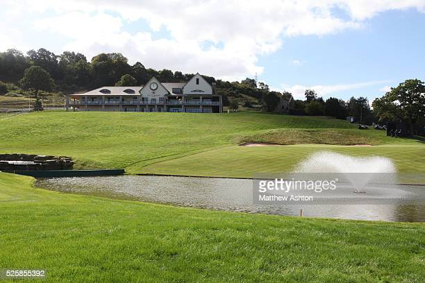The 2010 Clubhouse at the Celtic Manor Golf Club, the venue of the 2010 Ryder Cup