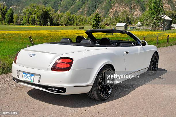 Bentley Continental Supersports Convertible Stock Photos And