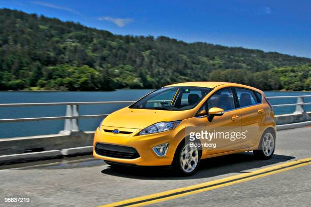 The 2017 Ford Fiesta Subcompact Car Is Driven Near Half Moon Bay California Us On Thursday