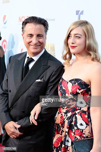 AWARDS The 2012 NCLR ALMA Awards 'Red Carpet' Pictured Andy Garcia and his daughter Alessandra Garcia Lorido on the red carpet at the 2012 NCLR ALMA...