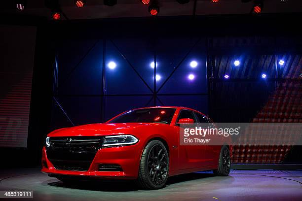 The 2015 Dodge Charger is unveiled during a media preview of the 2014 New York International Auto Show in New York The show opens with a sneak...