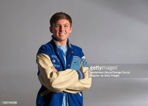 The 2015 OC Register AllCounty boys cross country team includes Dana Hills' Jack Landgraf ///ADDITIONAL INFO achsbxcountry1219kjs Photo by KEVIN...
