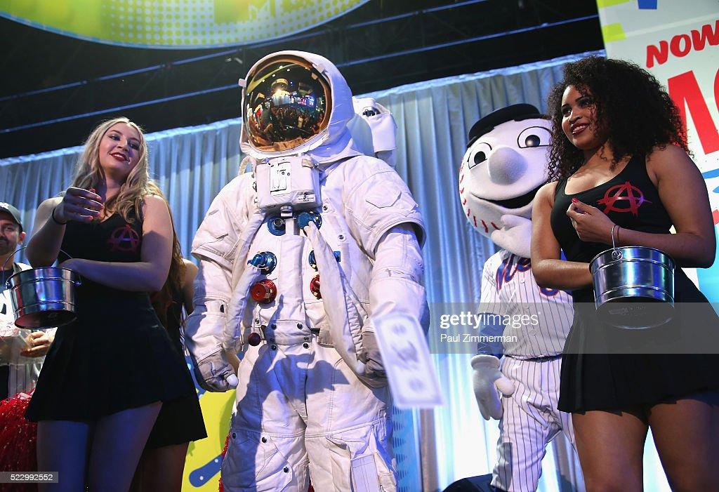 NY: 2016 MTV Upfront At Skylight At Moynihan Station