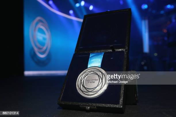 The 2017 John Newcombe medal is seen at the 2017 Newcombe Medal at Crown Palladium on November 27 2017 in Melbourne Australia
