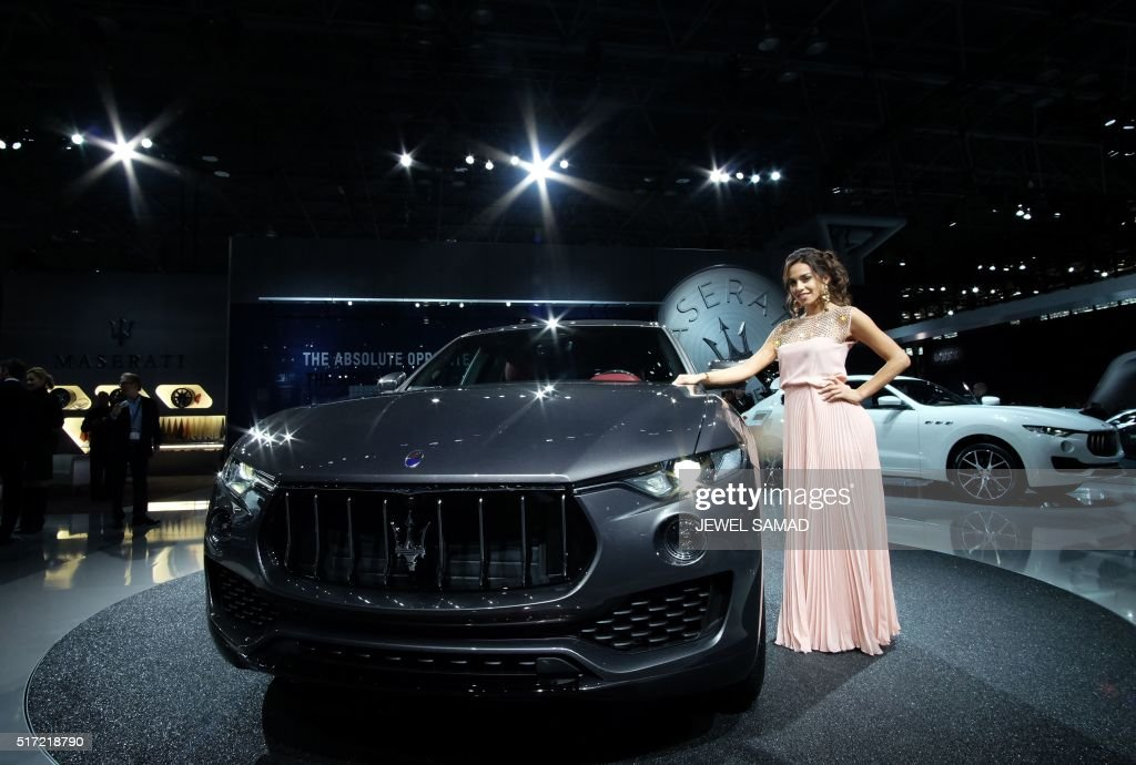 US-NEW YORK-AUTO SHOW : News Photo