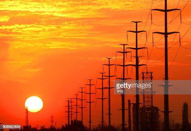 The 2017 total electricity consumption in China was 6.3 trillion kilowatt hour, year-on-year grow 6.6% in China on 22th January 2018 in Huaian,...