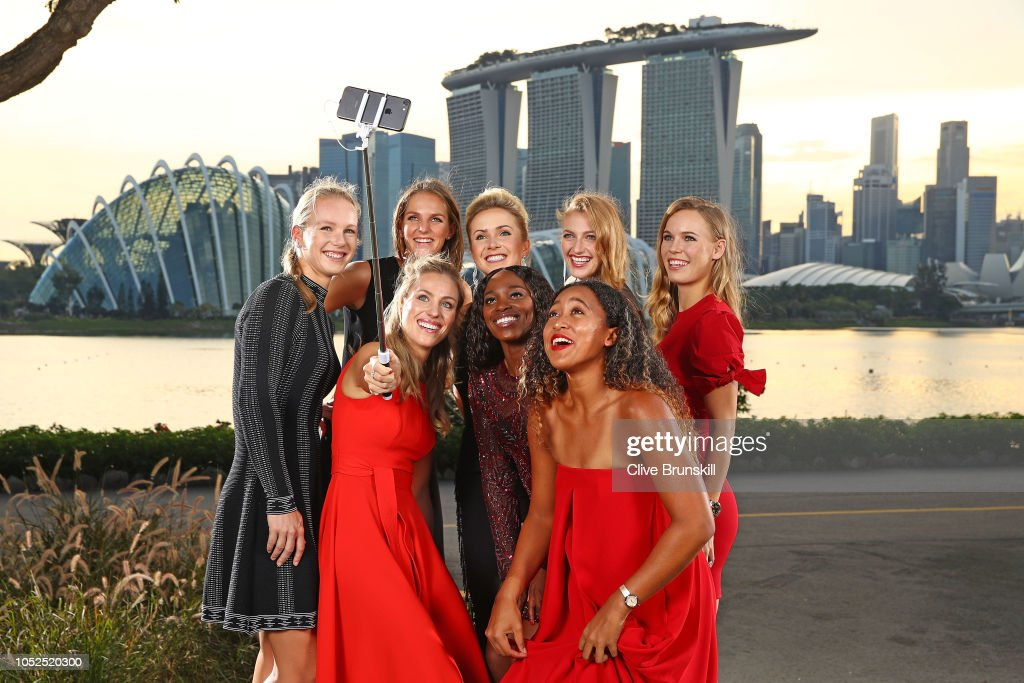 BNP Paribas WTA Finals Singapore presented by SC Global - Previews : News Photo