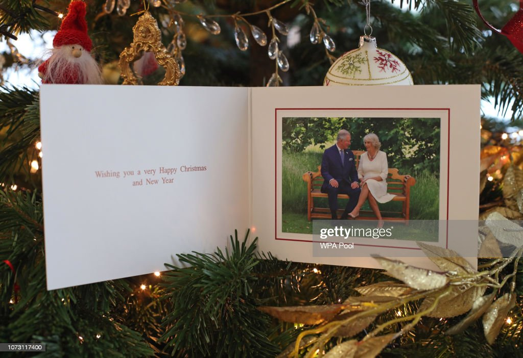 The British Royal Family Release Their Christmas Cards : News Photo