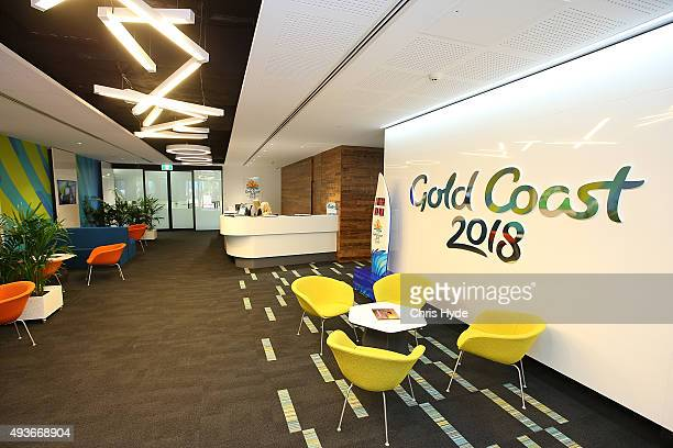 The 2018 Gold Coast Commonwealth Games Headquarters photographed at the Official Opening on October 22 2015 in Gold Coast Australia