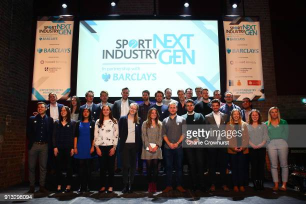 The 2018 Leaders during Sport Industry NextGen 2018 at Village Underground on February 1 2018 in London England