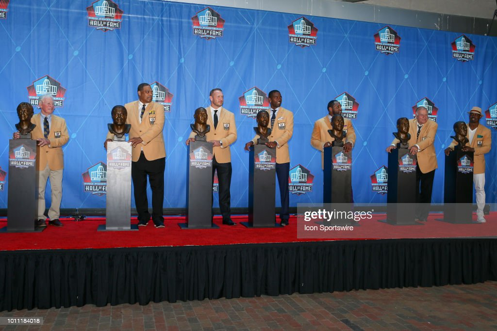 NFL: AUG 04 Hall of Fame Enshrinement Ceremony : News Photo