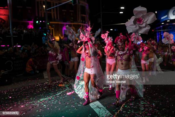 The 2018 Sydney Gay Lesbian Mardi Gras Parade on March 3 2018 in Sydney Australia The Sydney Mardi Gras parade began in 1978 as a march and...