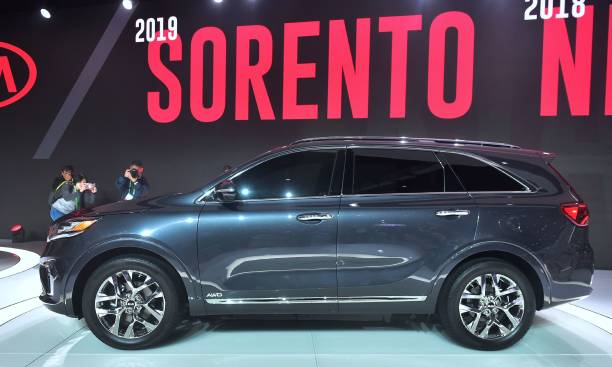 The 2019 Kia Soo Unveiled And On Display At 2017 La Auto Show November