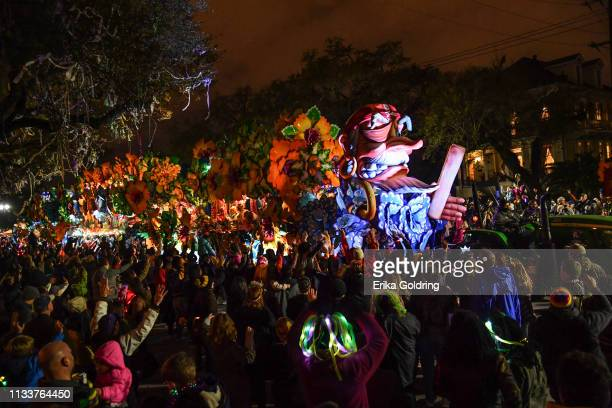 The 2019 Krewe of Orpheus parade takes place on March 4, 2019 in New Orleans, Louisiana.