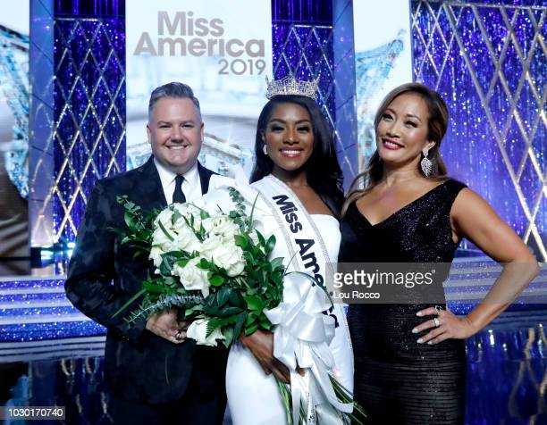 The '2019 Miss America Competition' broadcasts live from Atlantic City's Boardwalk Hall on Sunday Sept 9 2018 on the ABC Television Network ROSS