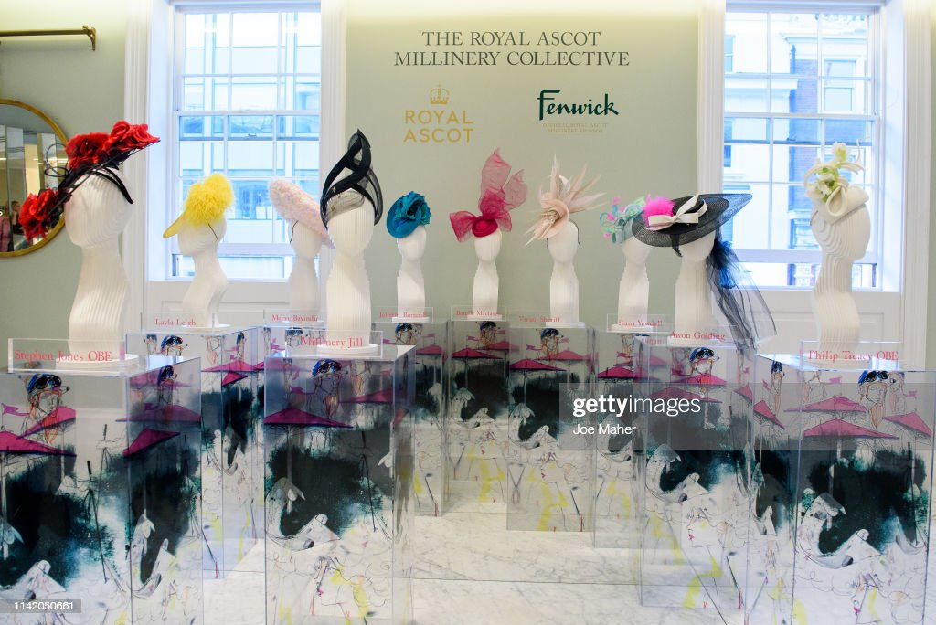 Royal Ascot Millinery Collective Launch : News Photo