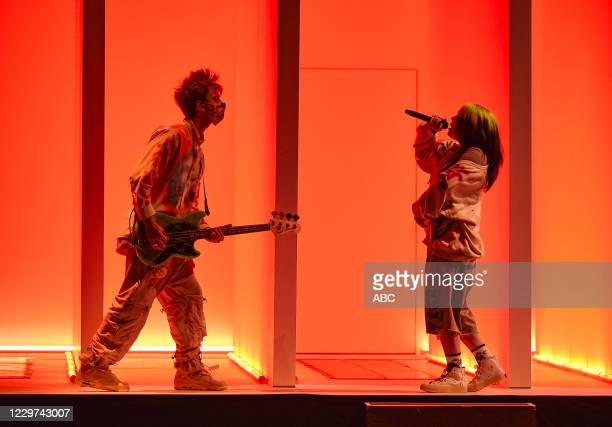 AWARDS The 2020 American Music Awards hosted by Taraji P Henson aired from the Microsoft Theater in Los Angeles SUNDAY NOV 22 on ABC BILLIE