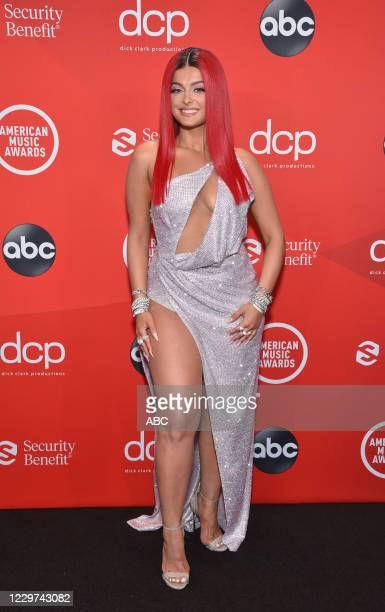 """The 2020 American Music Awards"""", hosted by Taraji P. Henson aired from the Microsoft Theater in Los Angeles, SUNDAY, NOV. 22 , on ABC. BEBE REXHA"""