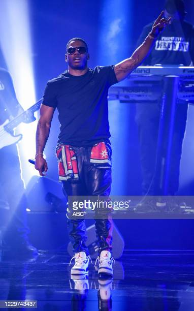 """The 2020 American Music Awards"""", hosted by Taraji P. Henson aired from the Microsoft Theater in Los Angeles, SUNDAY, NOV. 22 , on ABC. NELLY"""