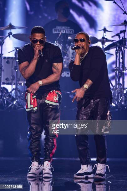 """The 2020 American Music Awards"""", hosted by Taraji P. Henson aired from the Microsoft Theater in Los Angeles, SUNDAY, NOV. 22 , on ABC. NELLY, LAVELL..."""