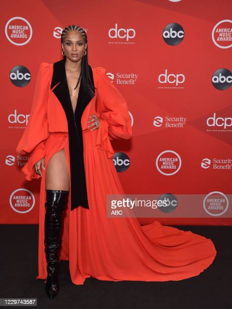 "The 2020 American Music Awards"", hosted by Taraji P. Henson aired from the Microsoft Theater in Los Angeles, SUNDAY, NOV. 22 , on ABC. CIARA"