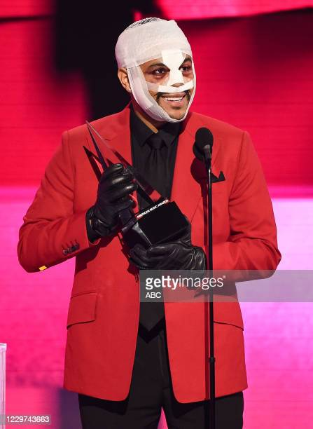 """The 2020 American Music Awards"""", hosted by Taraji P. Henson aired from the Microsoft Theater in Los Angeles, SUNDAY, NOV. 22 , on ABC. THE WEEKND"""