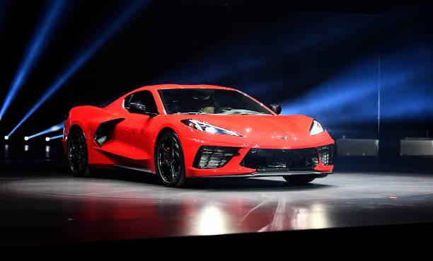 CA: General Motors Unveils Its New Corvette In California