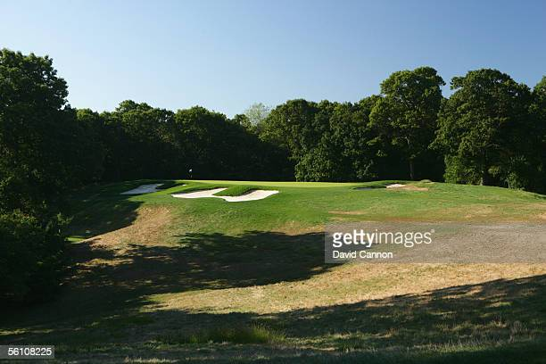 The 205 yard par 3 3rd hole on the Black Course at Bethpage Sate Park venue for the 2009 US Open on September 21 2005 in Farmingdale New York United...