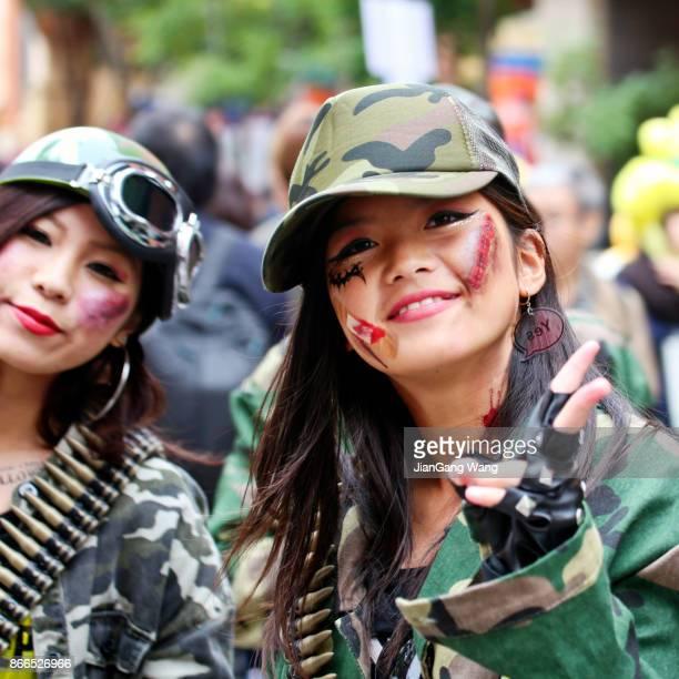 The 20th Anniversary of Kawasaki Halloween - Girls in Combat Uniform