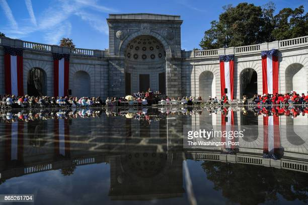 The 20th Anniversary of Women In Military Service For America Memorial celebration on Saturday October 21 at the Arlington National Cemetery in...