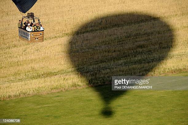 The 20th Biennal Mondial Hot Air Balloons in Chambley Bussieres, France on July 29, 2009- From July 24th to August 2nd, on Chambley Planet' Air , the...