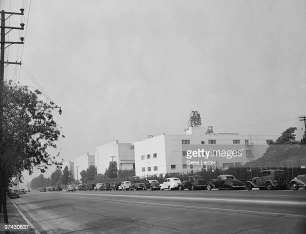 The 20th Century Fox film studios in Los Angeles, California, 1947.
