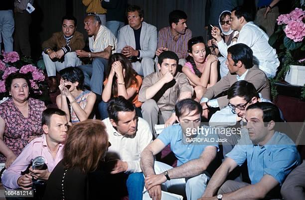 The 21Th Cannes Film Festival 1968: The Cessation Of The Festival. Le 21ème Festival de CANNES 1968 s'arrête. De nombreux cinéastes décrètent...