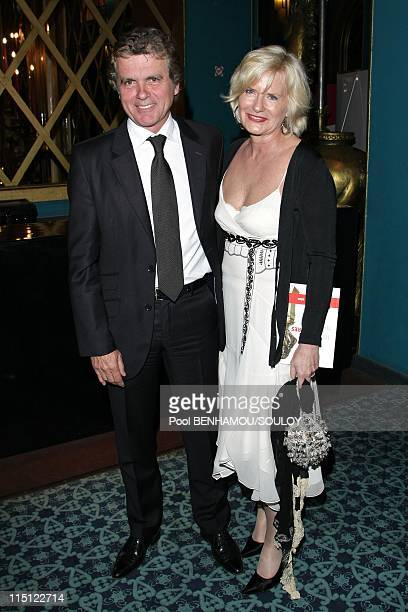 The 22nd Nuit des Molieres 2008 at the Folies Bergere in Paris France on April 28 2008 Claude Serillon and Catherine Ceylac