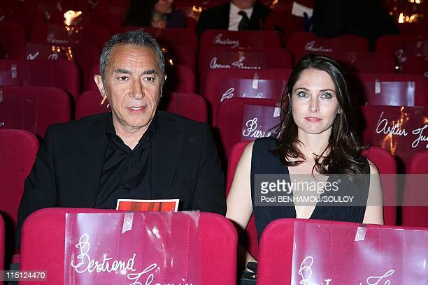 The 23rd 'Nuit des Molieres' at the Theatre de Paris France on April 26 2009 Richard Berry and his friend