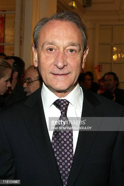 The 23rd 'Nuit des Molieres' at the Theatre de Paris France on April 26 2009 Bertrand Delanoe