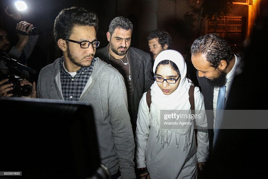 Egyptian court releases prominent female activist : News Photo