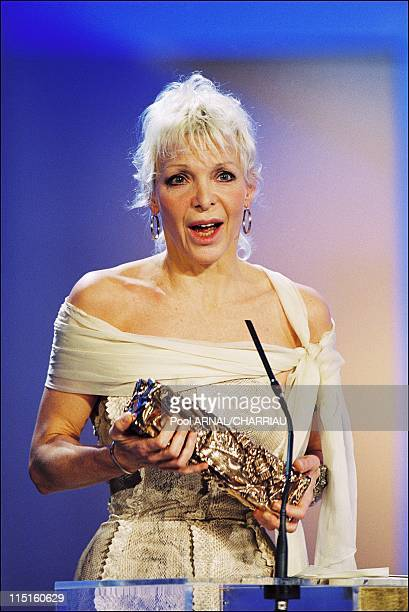 The 25th Cesar Awards Ceremony in Paris France on February 19 2000 Tonie Marshall Cesar Award for Best Film Best Director and Best Writing in Venus...